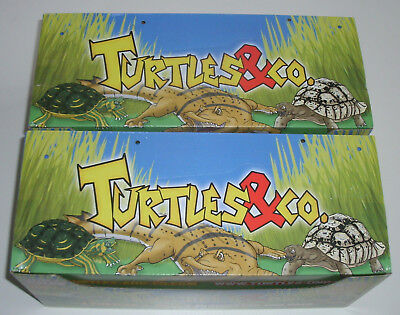DeAgostini Turtles & Co. - 2 x Display / 40 Booster NEU & OVP