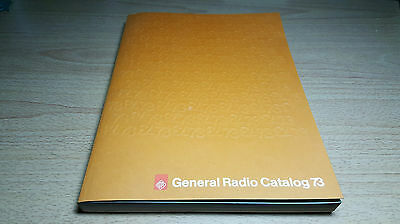 1973 General Radio Catalog GenRad GR w/Price List 359 Pages Excellent Condition