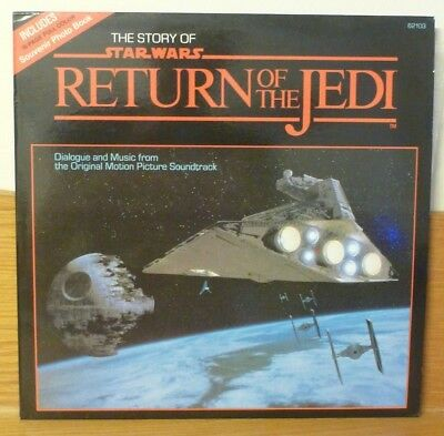 Lp - The Story Of Star Wars Return Of The Jedi