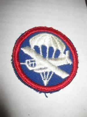 WW2 US Army Air Forces Airborne Paratrooper Para Glider Cap Patch WWII