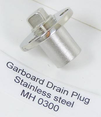 Garboard Drain Plug 316 Stainless Steel  for Boats - Marine 25.4 mm MH0300