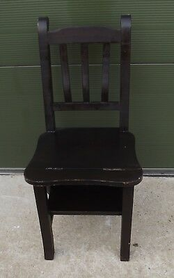 Modern Metamorphic Occasional Chair Steps Stepladder In The Antique Style