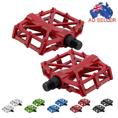 Bicycle Aluminium Alloy Flat-Platform Pedal MTB Mountain Bike Hollow BMX OBST221
