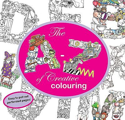 The A-Z of Creative Colouring by Kelly O'Gorman