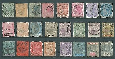 MAURITIUS used stamp collection from Queen Victoria onwards
