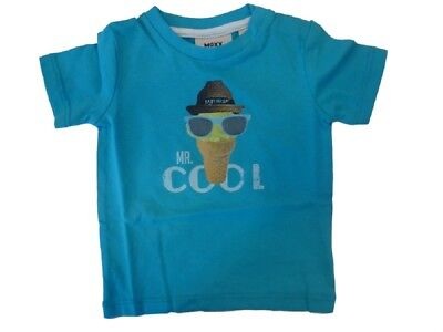 Baby T-Shirt for Boys Blue sz. 56 - 68 from Mexx