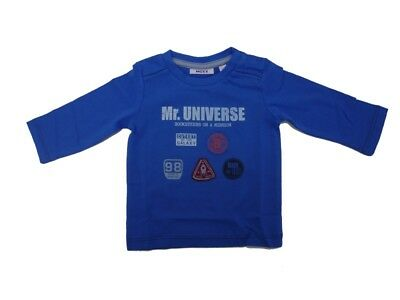 Mexx Boys Baby Long Sleeve Shirt Stream Blue sz. 56 62 68