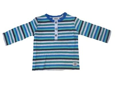 Boys Baby Long Sleeve Shirt paper Melange sz. 56 68 from Mexx