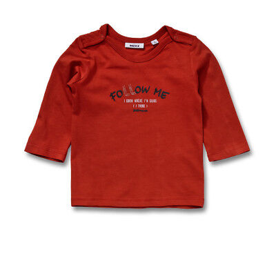 Mexx Boys Baby Long Sleeve Shirt Milano Red sz. 56 62 68