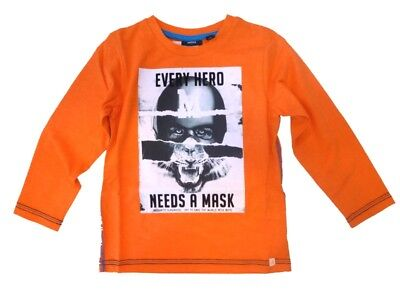 Young Children Long Sleeved Shirt Vibrant Orange sz. 98 110 122 from Mexx