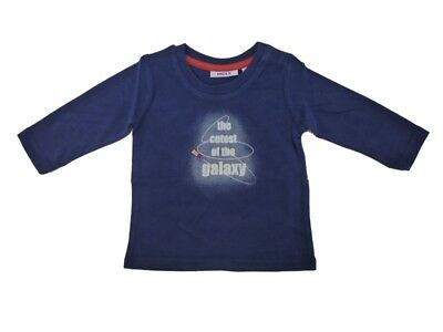 Mexx Boys Baby Long Sleeve Shirt Medieval Blue sz. 56 62 68