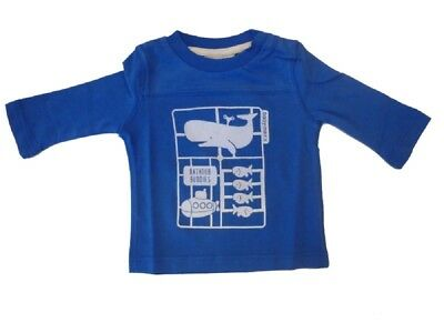 Baby Long Sleeve Shirt Medium Blue sz. 56 62 68 for Boy from Mexx