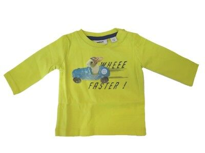 Long Sleeve Baby Boys Shirt Sulphur Jump from Mexx sz. 62 68
