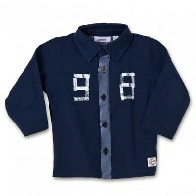 Mexx Boys Baby Long Sleeve Shirt Blue (Blue Midnight) sz. 62, 68