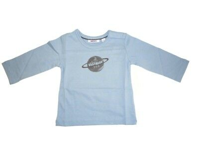 Mexx Boys Baby Long Sleeve Shirt Forever Blue sz. 56 62 68