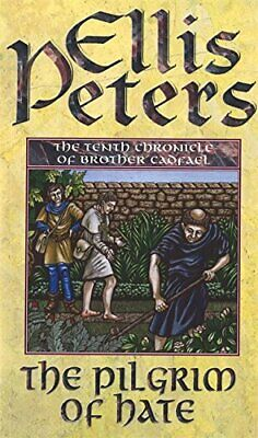 The Pilgrim of Hate by Peters, Ellis Paperback Book The Cheap Fast Free Post