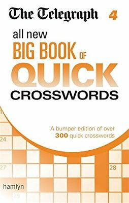 The Telegraph: All New Big Book of Quick Crosswords 4... by THE TELEGRAPH MEDIA