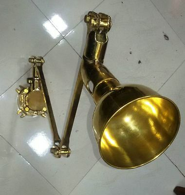 New Brass Adjustable reading lamp NICE CONDITION