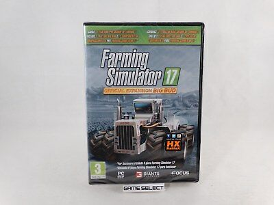Farming Simulator 17 Official Expansion Big Bud 2017 Pc Original Nuovo Sigillato