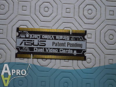 WORKING - ASUS SLI SELECTOR NV_SLI_2x8 NV_SLI-X16 - UK SELLER - S