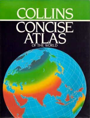 Collins Concise Atlas of the World by Currie, Andrew M. Hardback Book The Cheap