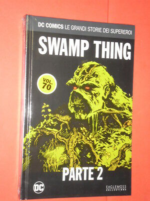 DC COMICS- GRANDI STORIE SUPEREROI- N°70- swamp thing 2- SIGILLATO- EAGLEMOSS