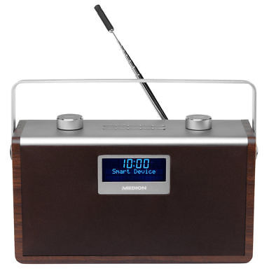 MEDION LIFE P66073 MD 80027 DAB+ Radio mit Bluetooth-Funktion 2x15 Watt RMS DAB