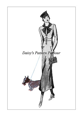 Vintage Sewing Pattern Daisys