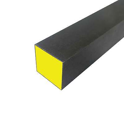 """A2 Decarb Free Tool Steel Square Bar 2"""" x 2"""" x 12"""" long"""