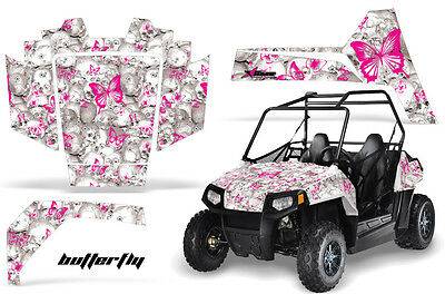 AMR Racing Polaris RZR 170 Decal Graphic Kit UTV Accessories All Years BFLY PINK