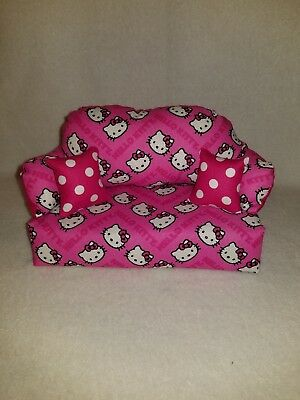 Hello Kitty doll couch HANDMADE BRAND NEW