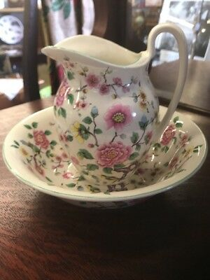 James Kent Staffordshire Pitcher And Bowl Beautiful!!