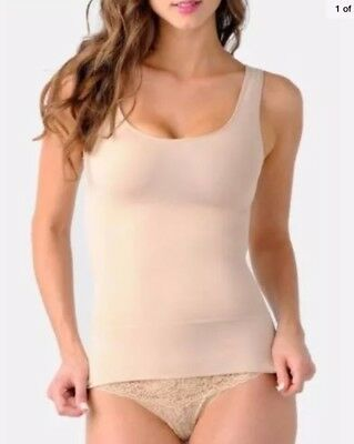 BELLY BANDIT 'Mother Tucker' Scoop Neck Compression TANK Size S Nude ~$70+