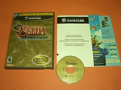 Legend of Zelda Wind Waker CIB Complete in GREAT COND for Nintendo Gamecube!