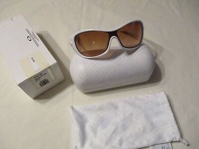 Oakley Speechless Pearl White Women's Sunglasses (Asian-Fit) Msrp $130