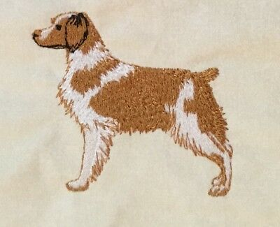 Brittany Spaniel, Hand Towel, Embroidered, Custom, Personalized, Dog