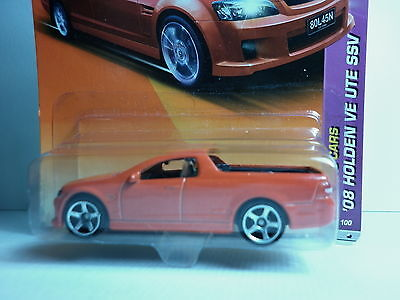 Matchbox  Holden Gmh Ve Commodore Red Ute Sharp Wow Unopened Card.