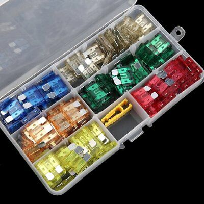 120pcs Mini Assortement Car Fuse Mixed Color 5-30Ampere Kit for Auto SUV & Truck