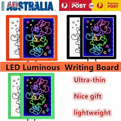 LED/Neon/Fluorescent Writing Advertising Board Whiteboard Flash Signage Sign Lot
