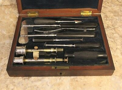 Antique Trephine Set - Beautiful Condition - English Set from the Mid 1800's