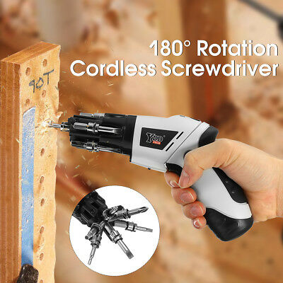 4.8V Cordless Drill Electric Rechargeable Screwdriver HoseTools Multifunction