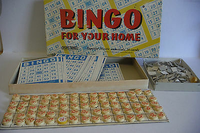 Bingo for your Home Spear's Games vintage board game
