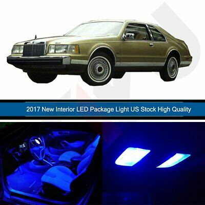 12x White Map Door Led Light Interior Package For Lincoln Town Car