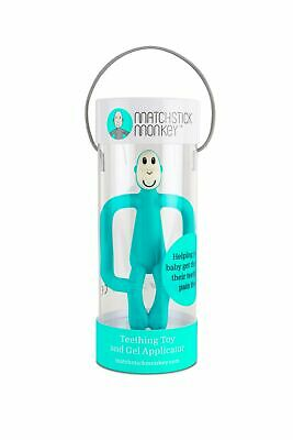 Matchstick Monkey EMERALD GREEN Teething Toy and Gel Applicator