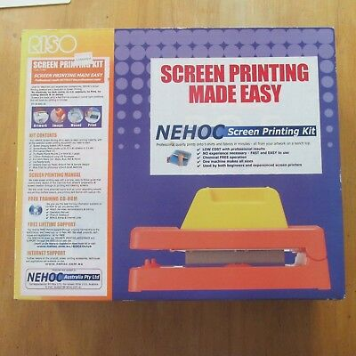 NEHOC Screen Printing Kit.