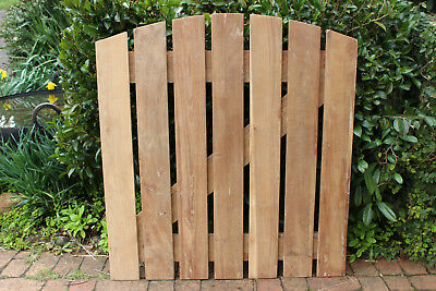 New Garden Gate Recycled Teak Timber Vintage English Country Style Strong Solid