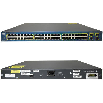 Cisco Catalyst WS-C3560-48PS-S PoE Fast Ethernet Switch 48 ports - managed