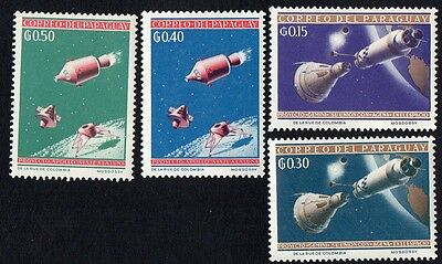 Paraguay.   1964 Space Exploration and Olympic Games - Tokyo, Japan.  MLH