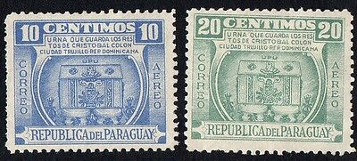 Paraguay.  1952 Airmail - The 500th Anniversary of the Birth of Christophe.  MH