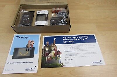 British Gas Electricity Meter Reader Home Electric Energy Usage Monitor *New*